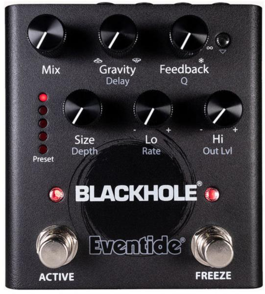 Reverb/delay/echo effect pedaal Eventide Blackhole Reverb