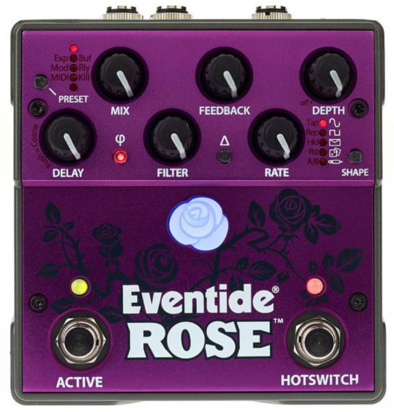 Reverb/delay/echo effect pedaal Eventide Rose Modulated Delay