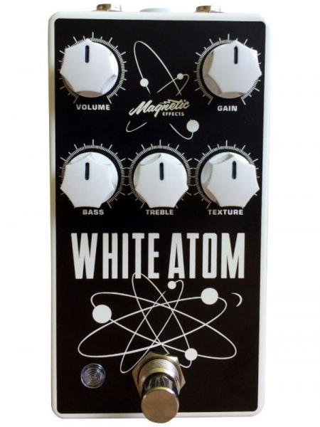 Overdrive/distortion/fuzz effectpedaal Magnetic effects White Atom V3 Silicon/Germanium Fuzz