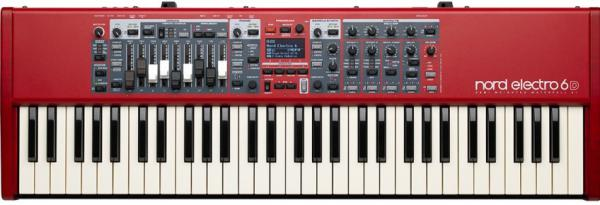 Stagepiano  Nord Electro 6D 61 - Rouge