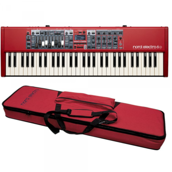 Stagepiano  Nord ELECTRO 6D 61 Rouge + SOFTCASE1 - Rouge
