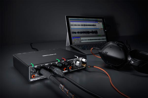 Home studio set Roland Rubix24 + X-TONE XS-Studio + cable XLR 3m