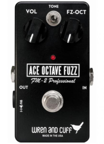Overdrive/distortion/fuzz effectpedaal Wren and cuff Ace Octave Fuzz