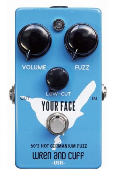 Overdrive/distortion/fuzz effectpedaal Wren and cuff Your Face 70's Germanium Fuzz