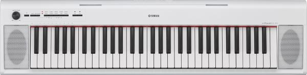 Draagbaar digitale piano Yamaha NP-12 - White